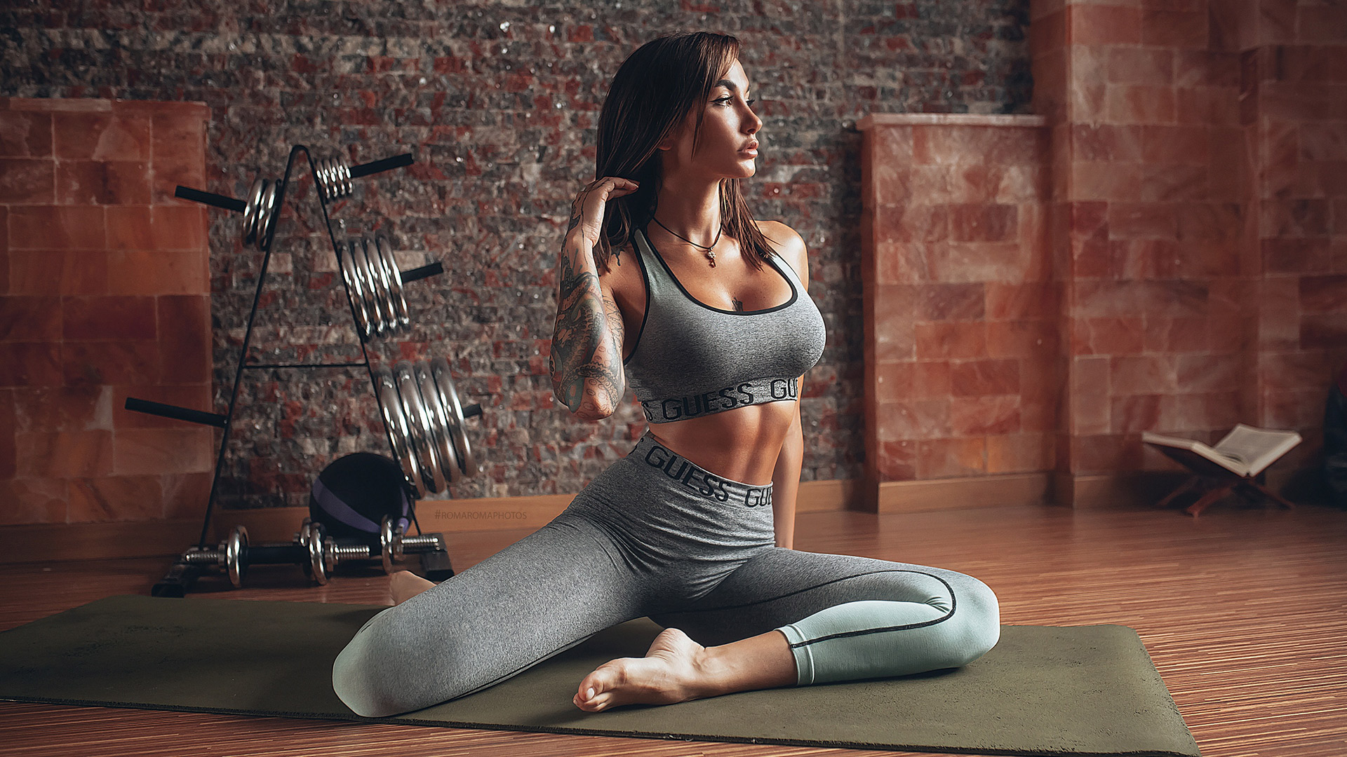 Yoga fitness hd image