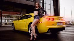 Chevrolet Camaro and hot legs model