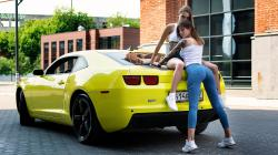 Chevrolet Camaro and women models